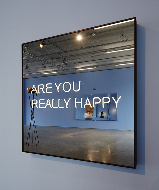 , 'ARE YOU REALLY HAPPY,' 2012, KÖNIG GALERIE
