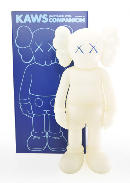 KAWS, '(5 YEARS LATER) GID BLUE', 2004, Sculpture, Painted Cast Vinyl by Medicom for Kawsone, Dope! Gallery