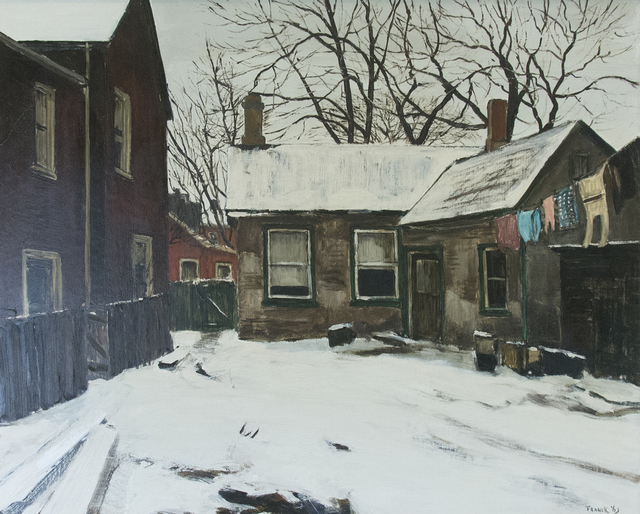 , 'Backyard Monro St,' 1963, Oeno Gallery