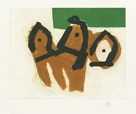 , 'Sirens II,' 1988, Galerie Boisseree