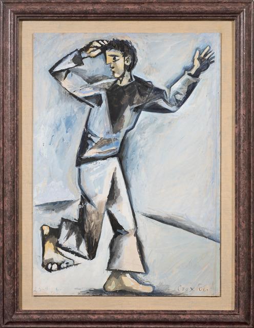 , 'Running Figure,' 1946, Osborne Samuel