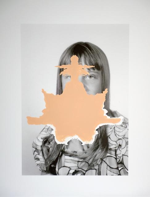 , 'Rorschach Portrait,' 2015, Andréhn-Schiptjenko