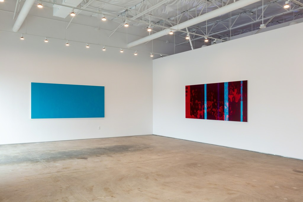 Emmanuel Van der Auwera, White Noise, exhibition view, 2019