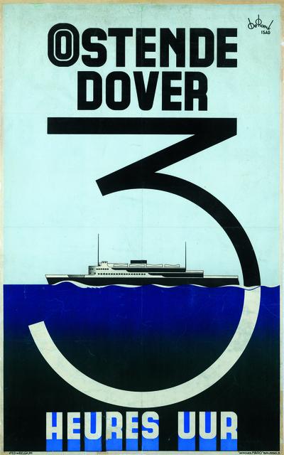 , 'Oostende-Dover,' 1935, Musée d'Ixelles