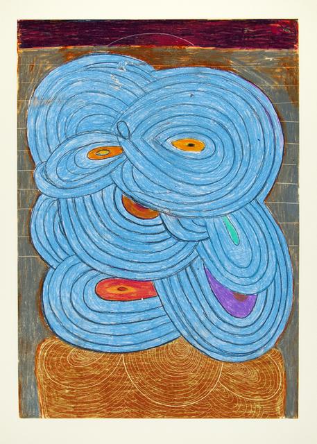 , 'Blue,' 2015, Manneken Press
