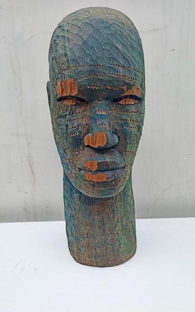Alimi Adewale, 'Untitled', 2020, Sculpture, Ekki wood, Nil Gallery