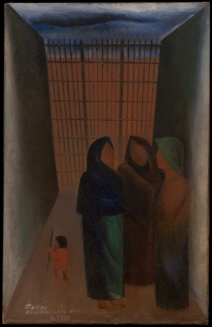 David Alfaro Siqueiros, 'Penitenciaria (Penitentiary)', 1930, San Francisco Museum of Modern Art (SFMOMA)