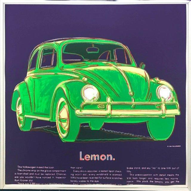 Andy Warhol, 'Volkswagen (FS II.358)', 1985, Revolver Gallery