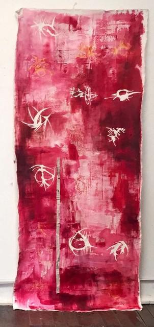 , 'Vacíos de Voz Rojo,' 2019, Bendana | Pinel