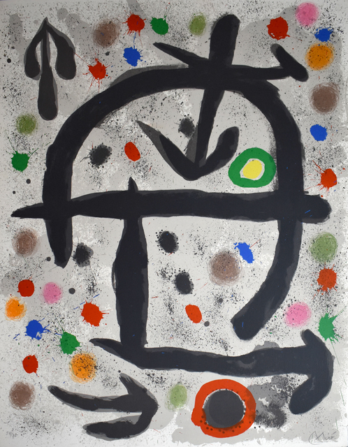 Joan Miró, 'Composition V, from: The Perseids | Les pérseides', 1970, Gilden's Art Gallery