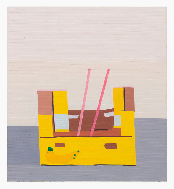 Guy Yanai, 'Banana Box With Pink Stripes', 2016, Rema Hort Mann Foundation Benefit Auction