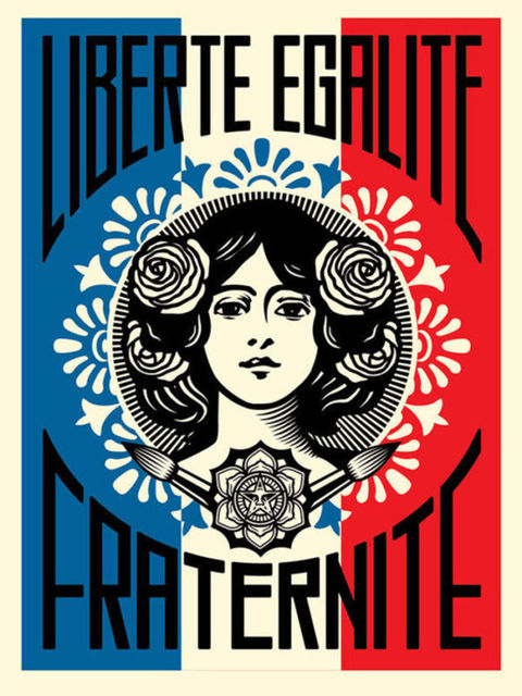 Shepard Fairey, 'Freedom, equality, brotherhood', 2018, DIGARD AUCTION