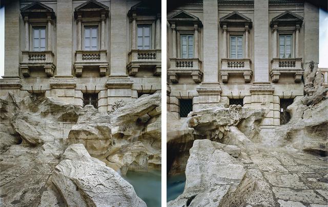 Jordi Bernadó, 'Fontana di Trevi, Roma #01-#02', 2007, Photography, C-print, Galeria Senda