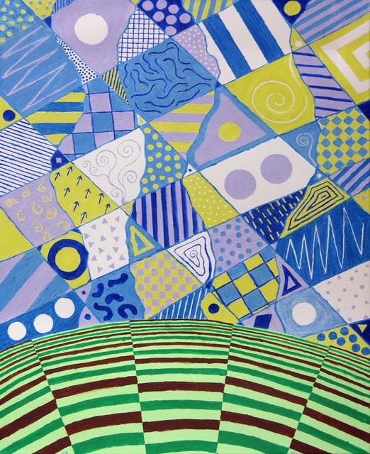 , 'Calico Sky,' 2012, Edward Thorp Gallery