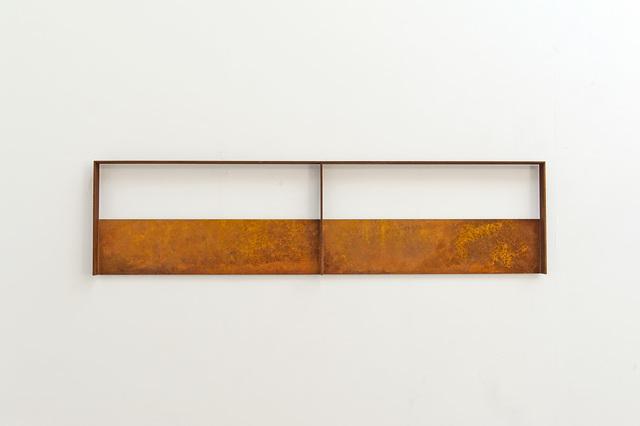 Riki Mijling, 'VOID XXXVI', 2020, Sculpture, Steel with rust patina, Galerie Floss & Schultz