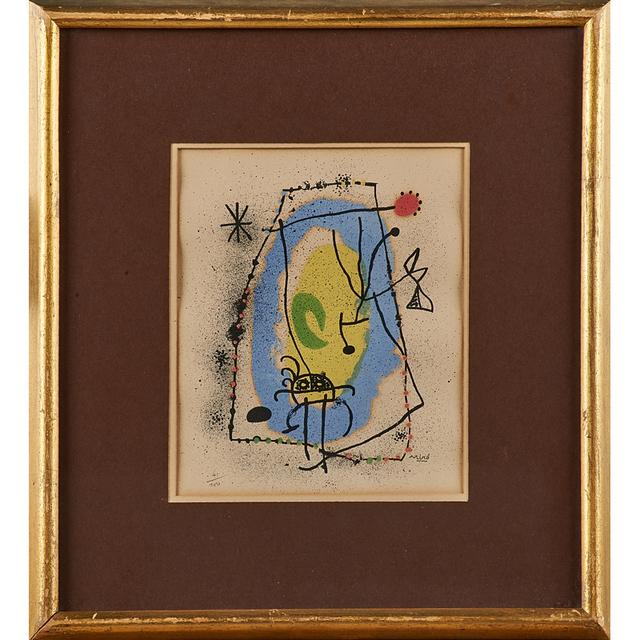 Joan Miró, 'Untitled (framed)', Rago/Wright