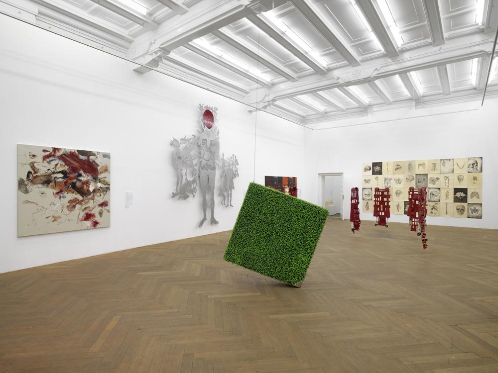 "Installation view. ""SIP"" Indonesian Art Today"", ARNDT, Berlin, Germany. April 27 - June 01, 2013."