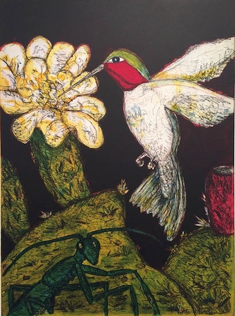 , 'Ruby-throated Hummingbird,' 2014, William Campbell Contemporary Art, Inc.