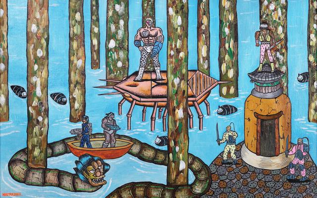 Motohiro Hayakawa, 'Space Battles Series 1 - #1', 2010-2016, Coleccion SOLO