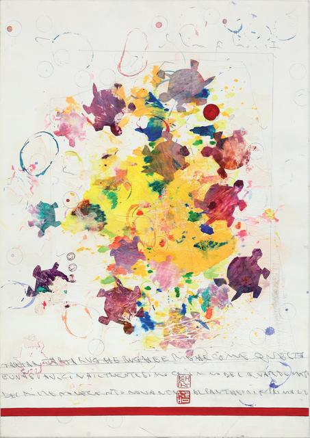 , 'Senza titolo  (Tartar tartarughe rughe e righe…),' 1990, Dep Art