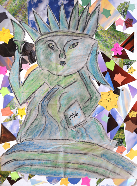 , 'Statue of Liberty/Diversity,' 2014, Fountain House Gallery
