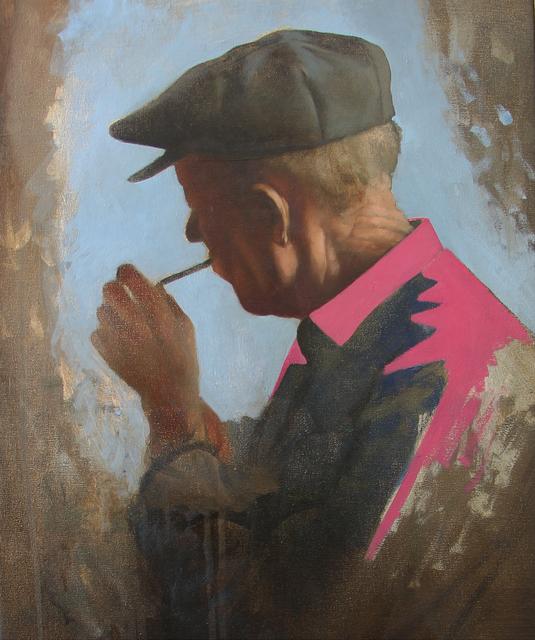 , 'Smoker,' 2018, Accesso Galleria