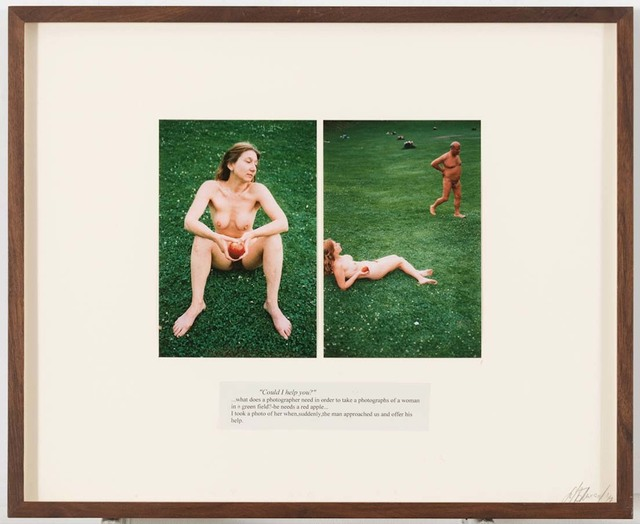 ", 'Untitled (from the series ""Look at me I look at water""),' 2002, Suzanne Tarasieve"