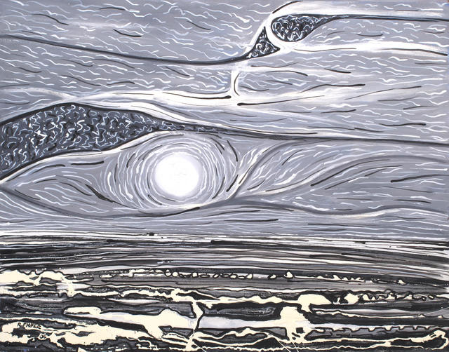 Robert Fisher, 'Moon and Stars- Lake Eyre', Wentworth Galleries