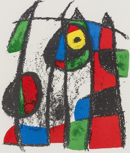 Joan Miró, 'Two plates from 'Joan Miro Lithographe II' (Cramer Books 198)', 1975, Forum Auctions