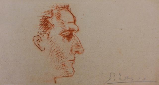 Pablo Picasso, 'Portrait of Marcel Boudin', 1939, Plazzart