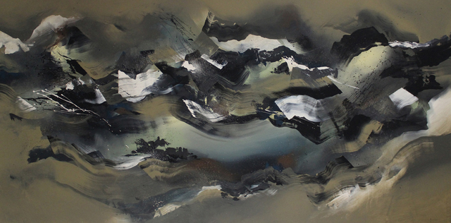 , 'Middle Scenery,' 2014, Ronin Gallery
