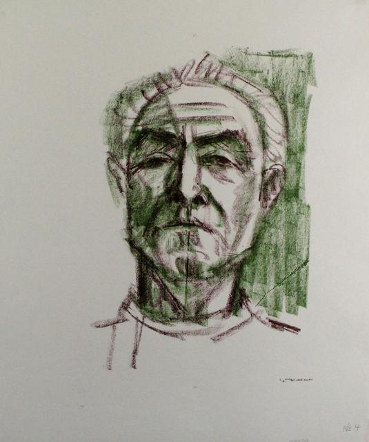 , 'Selbstbildnis,' 1965, Sylvan Cole Gallery