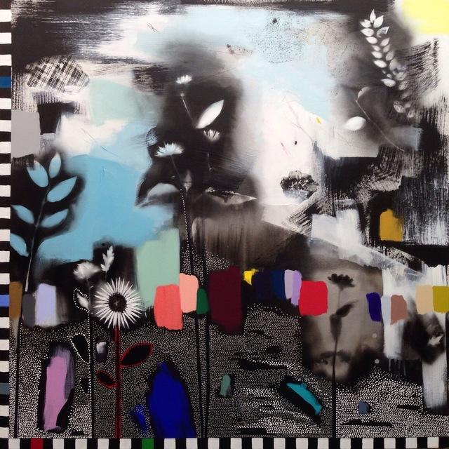 , 'Dreamscape (Wildflowers) II,' 2016, Rebecca Hossack Art Gallery