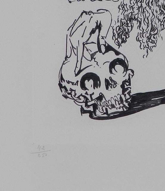 Salvador Dalí, 'La Vida es Sueno Viellart Tete de Mort ', 1973, Print, Etching, Fine Art Acquisitions Dali