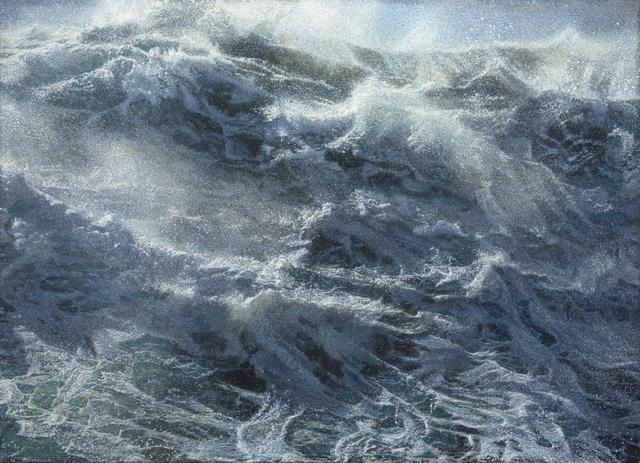 , 'Kochende See I,' 2015, Galerie Thomas Fuchs