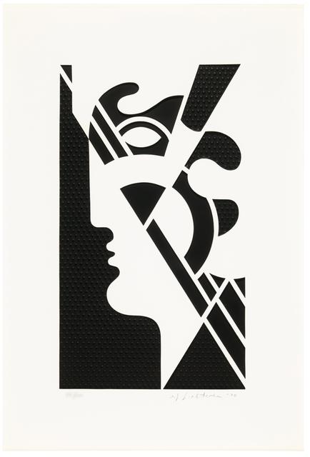 Roy Lichtenstein, 'Modern Head #5', 1970, Hamilton-Selway Fine Art