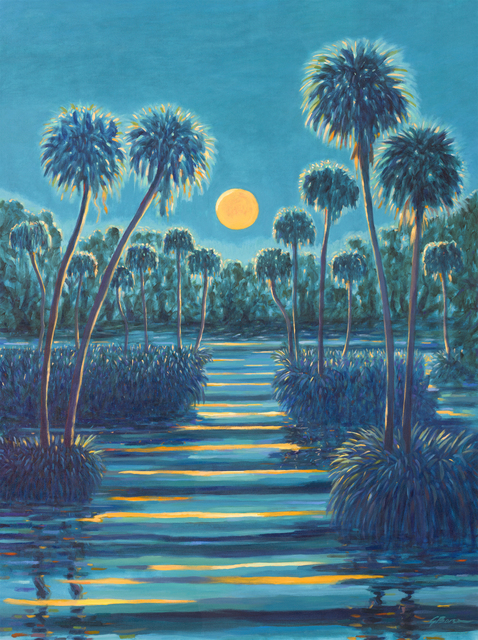 , 'Moonlight Romance,' 2019, 530 Burns Gallery