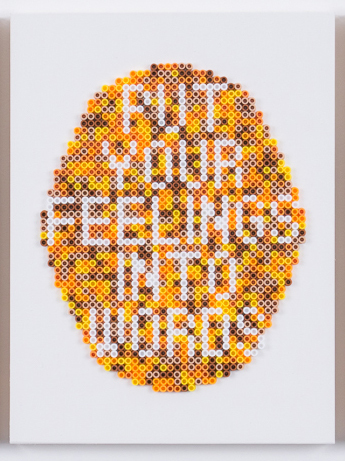 , 'Put Your Feelings into Words,' 2017, Wil Aballe Art Projects | WAAP