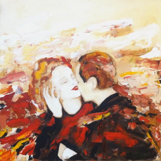 Rita Kashap, 'Der Kuss - Roter Wein', 2007, Galerie Makowski