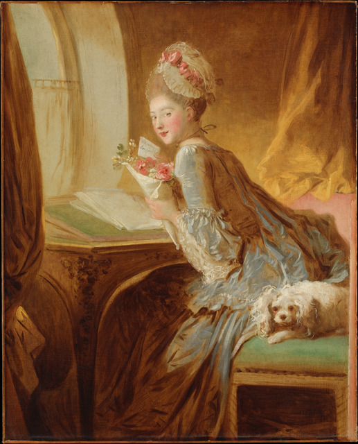 Jean-Honoré Fragonard, 'The Love Letter', early 1770s, Painting, Oil on canvas, The Metropolitan Museum of Art