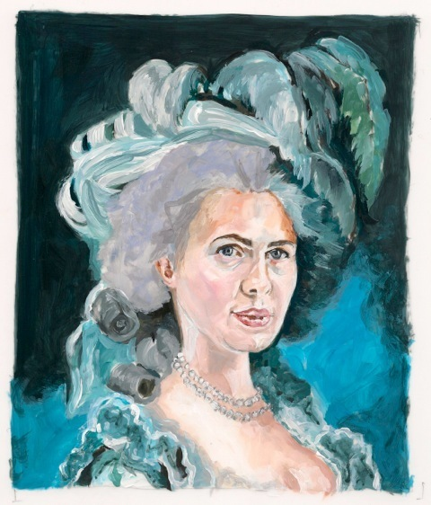 , 'After Vigee Le Brun: Russian Businesswoman as Marie Antoinette,' 2015, Cynthia Corbett Gallery