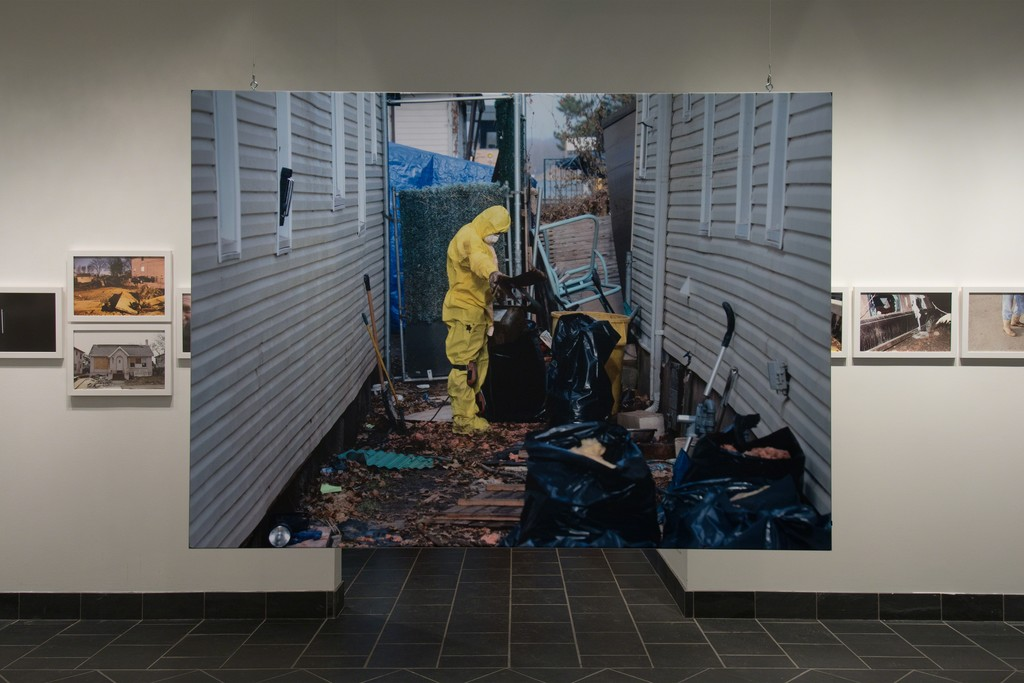 Zoe Strauss: Sea Change. Cantor Fitzgerald Gallery 2015. Photo: Lisa Boughter