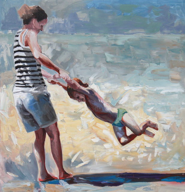 Cveta Markova, 'Strand II ', 2018, Galerie Barbara von Stechow