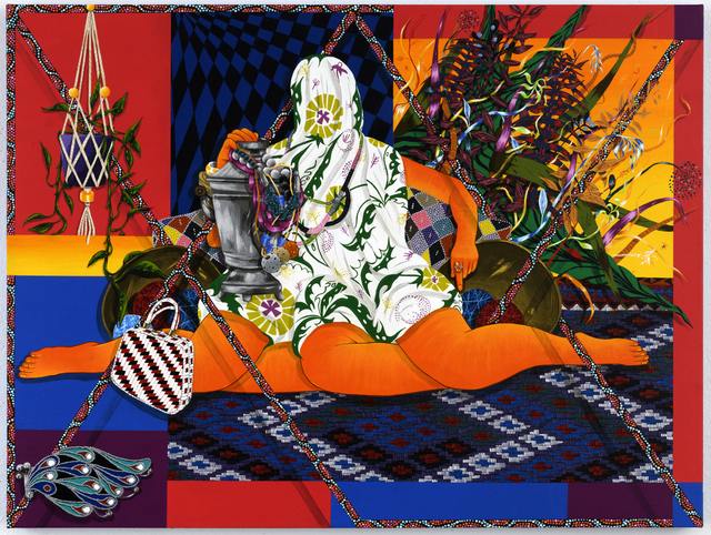 , 'Our Lady of Solitude,' 2018, Shulamit Nazarian
