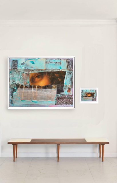 """Natasha Zupan, '""""Eternal Recurrence #21"""" diptych', 2015-2018, The Art Design Project"""