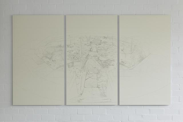 , 'Significant Scene (Disembodied Scene),' 2015, JOEY RAMONE
