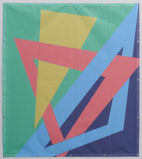 , 'Building Mesh 1 ,' 2018, Tatjana Pieters