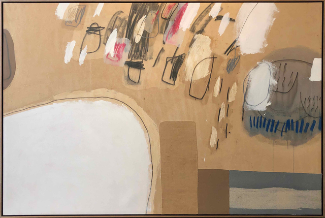 Katie Walker, 'horizontal painting a vertical drawing', 2019, Hodges Taylor