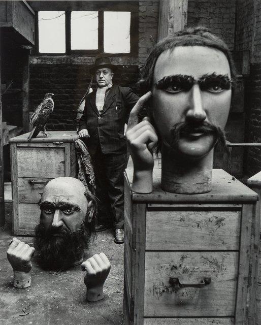 Robert Doisneau, 'Les Geants du Nord', 1951, Photography, Gelatin silver, 1979, Heritage Auctions