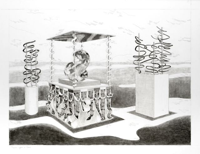 Audrey Matt Aubert, 'Twice upon a time', 2020, Drawing, Collage or other Work on Paper, Graphite on paper, Isabelle Gounod